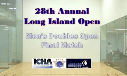 2009 Long Island Open Men's Double's Final – 2nd Game