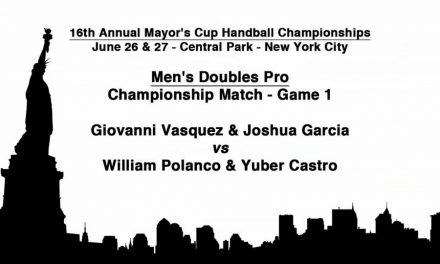 Men's Doubles Championship Match – Game 1 – Giovanni Vasquez & Joshua Garcia vs William Polanco & Yuber Castro