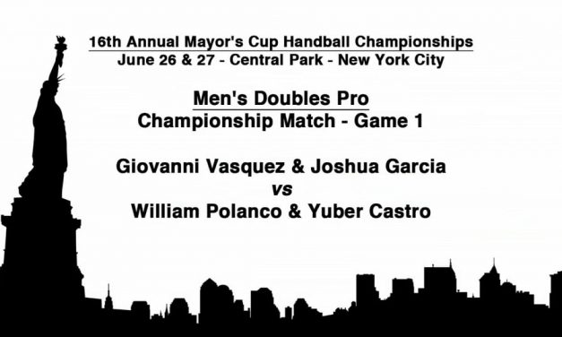 Men's Doubles Championship Match – Game 1 – Giovanni Vasquez & Joshua Garcia vs William Polanco & Yuber Castro