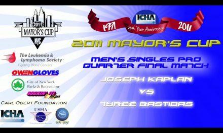 Men's Singles Pro Quarter Final Match – Joseph Kaplan vs Tyree Bastidas