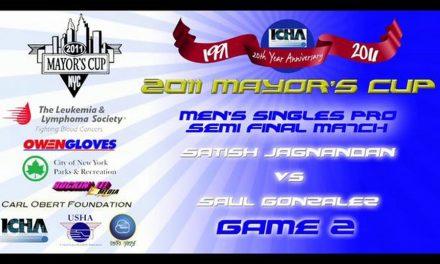 Men's Pro Singles Semi Final Match – Satish Jagnandan vs Saul Gonzalez – Game 2