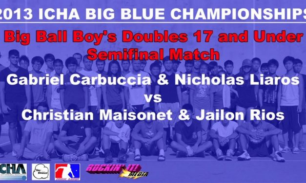Big Ball Boy's Doubles 17 and Under – Semifinal Match – Gabriel Carbuccia & Nicholas Liaros vs Christian Maisonet & Jailon Rios