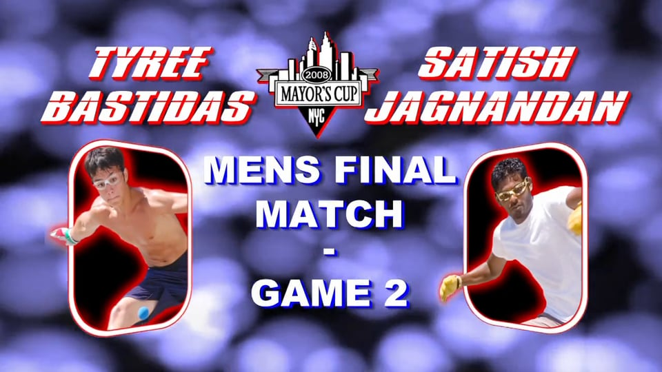 2008 Mayor's Cup – Men's Pro Championship Match – Game 2 – Satish Jagnandan vs Tyree Bastidas