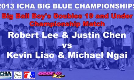 Big Ball Boy's Doubles 19 and Under – Championship Match – Robert Lee & Justin Chen vs Kevin Liao & Michael Ngai