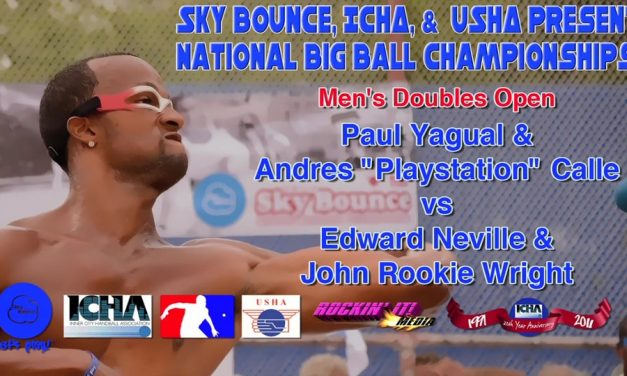 "Men's Doubles Open – Paul Yagual & Andres ""Playstation"" Calle vs Edward Neville & John Rookie Wright"