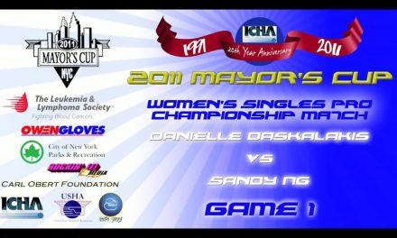 Women's Singles Pro Championship Match – Danielle Daskalakis vs Sandy Ng – Game 1