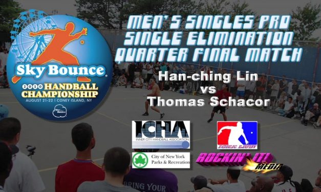 Mens Singles Pro Quarterfinal Match – Han-ching Lin vs Thomas Schacor