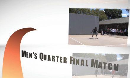 "2008 Skybounce Pro Championships – Men's Quarter Final Match – John ""Rookie"" Wright vs Cesar Sala"