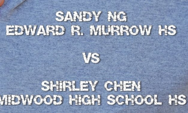 Girl's Singles 17 & Under – Final Match Game 2
