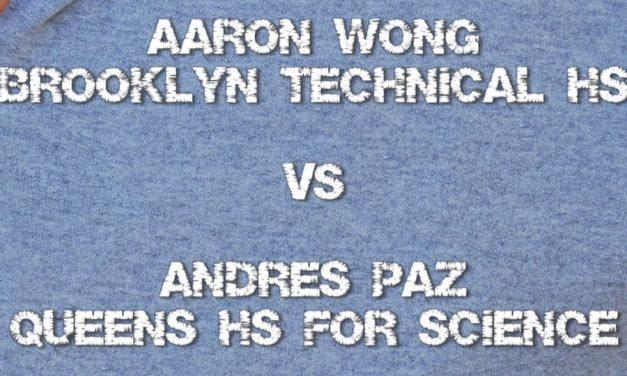 2009 ICHA High School Spring Meet – Boy's Singles 17 & Under Semi Final Match