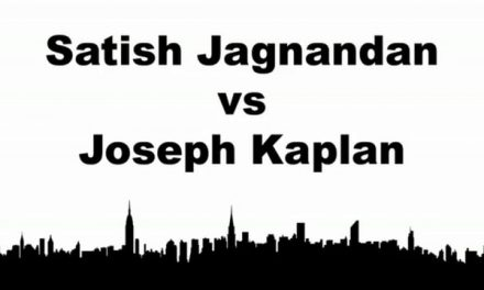 Men's Singles Pro Semi Final Match – Satish Jagnandan vs Joseph Kaplan – Game 1