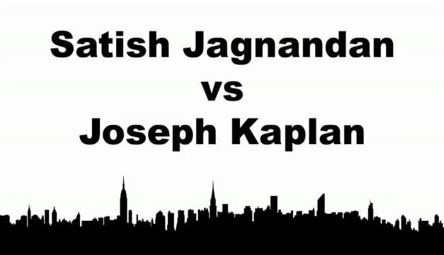 Men's Singles Pro Semi Final Match – Satish Jagnandan vs Joseph Kaplan – Game 2