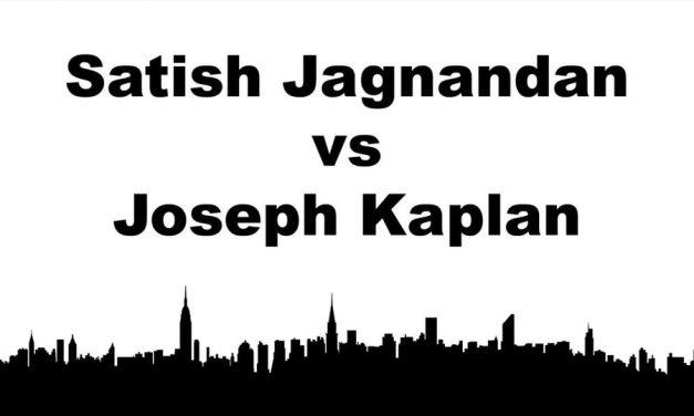 Men's Singles Pro Semi Final Match – Satish Jagnandan vs Joseph Kaplan – Tie Breaker