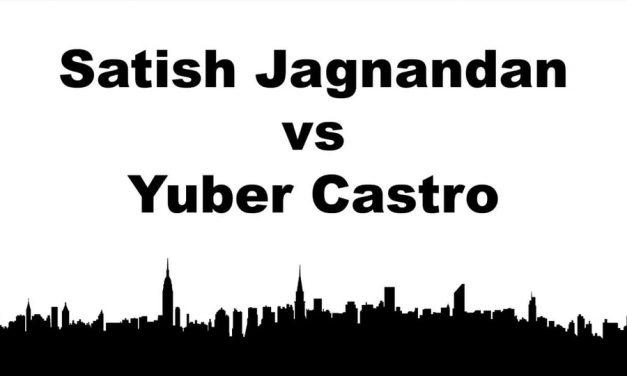 Men's Singles Pro – Satish Jagnandan vs Yuber Castro