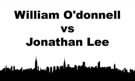 Men's Singles Pro Quarter Final Match – William O'donnell vs Jonathan Lee