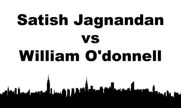 Men's Singles Pro Championship Match – Satish Jagnandan vs William O'donnell – Game 2