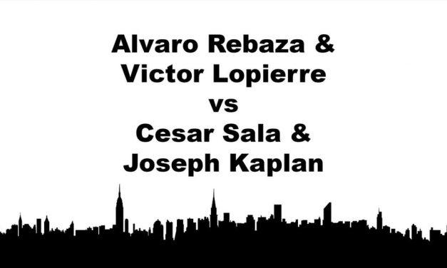 Men's Doubles Open – Alvaro Rebaza & Victor Lopierre vs Cesar Sala & Joseph Kaplan