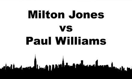 Men's Singles Master (40+) – Paul Williams vs Milton Jones – Game 1
