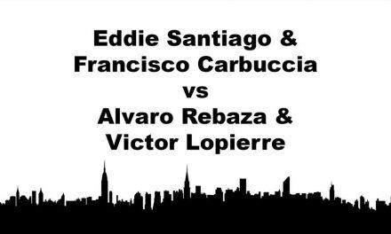Men's Doubles Open Championship Match – Eddie Santiago & Francisco Carbuccia vs Alvaro Rebaza & Victor Lopierre Game 1