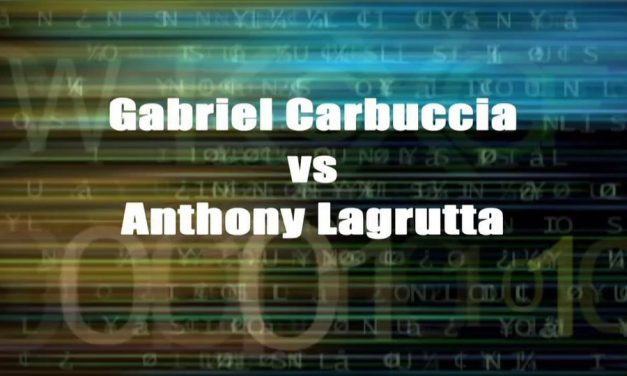 Boy's Singles 13 & Under Championship Match – Gabriel Carbuccia vs Anthony Lagrutta