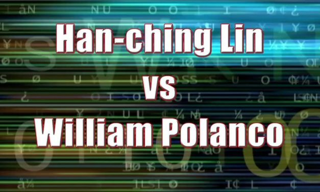 Men's Pro Singles – Han-ching Lin vs William Polanco
