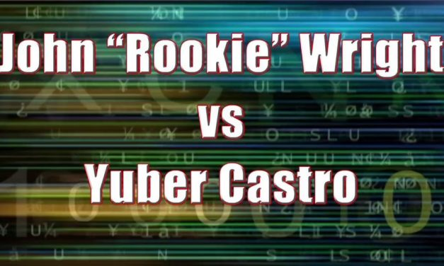"Men's Pro Singles – Championship Match – John ""Rookie"" Wright vs Yuber Castro"