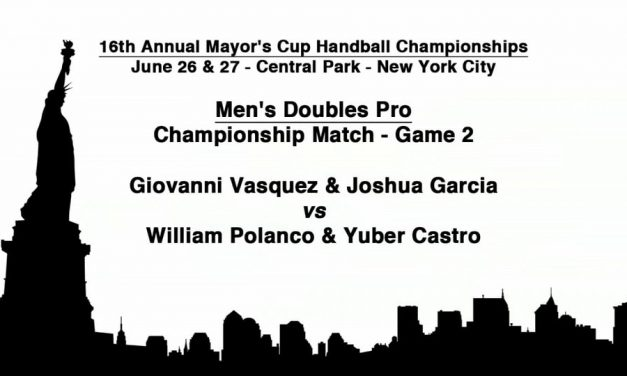 Men's Doubles Championship Match – Game 2 – Giovanni Vasquez & Joshua Garcia vs William Polanco & Yuber Castro