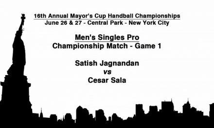 2010 Mayor's Cup – Men's Singles Pro Championship Match – Game 1 – Satish Jagnandan vs Cesar Sala