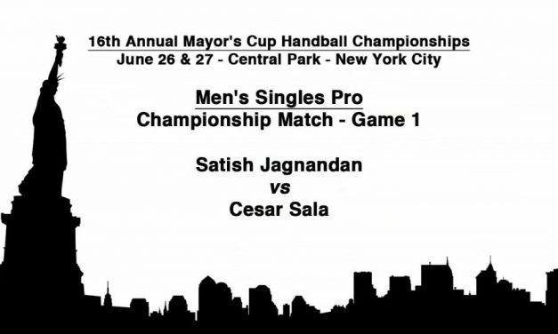 2010 Mayor's Cup – Men's Singles Pro Championship Match – Game 1 – Satish Jagnandan vs Cesar Sala