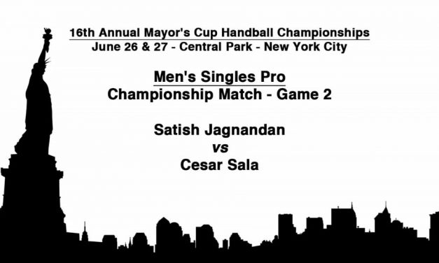 Men's Singles Pro Championship Match – Game 2 – Satish Jagnandan vs Cesar Sala