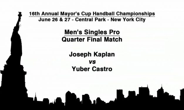 Men's Singles Pro Quarterfinal Match – Joseph Kaplan vs Yuber Castro