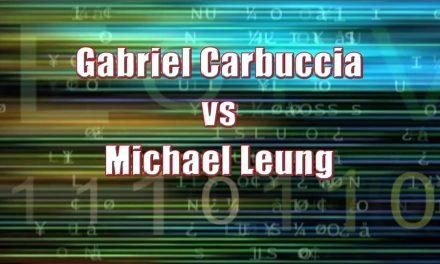 Boy's Singles 13 & Under – Semi Final Match – Gabriel Carbuccia vs Michael Leung